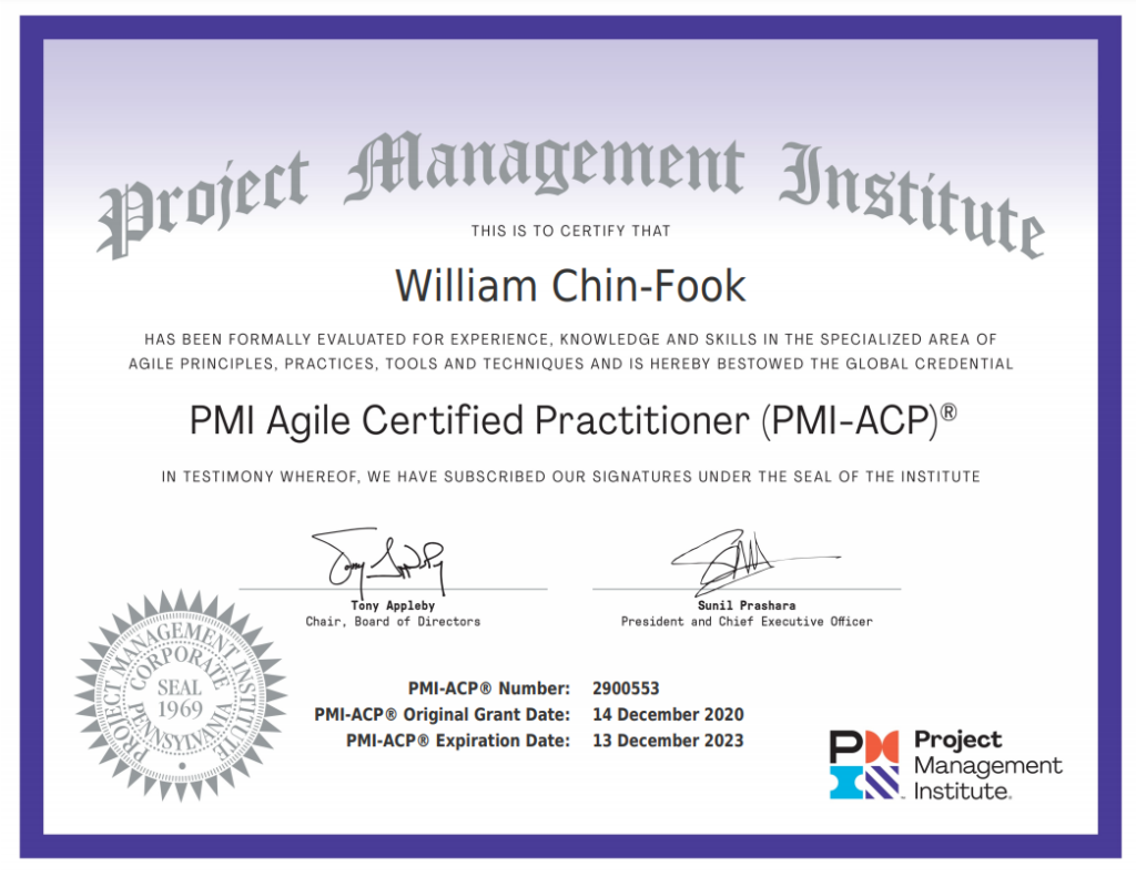 ACP-Certification
